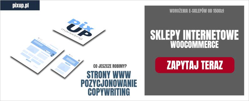 Seklep internetowy Woocommerce, prestashop ? projektowanie sklepow internetowych Lublin