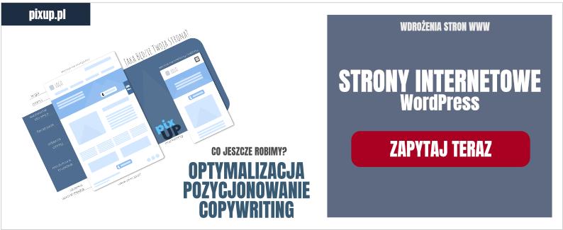 Projektowanie stron internetowych Lublin - strony internetowe WordPress