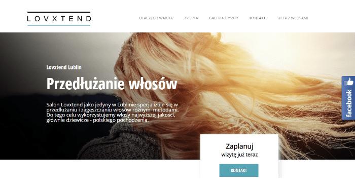 Lovxtend - strony internetowe lublin