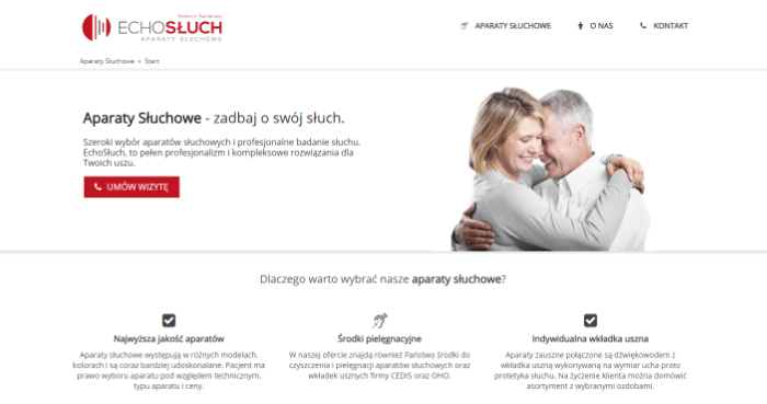 strony internetowe biała podlaska - echosłuch