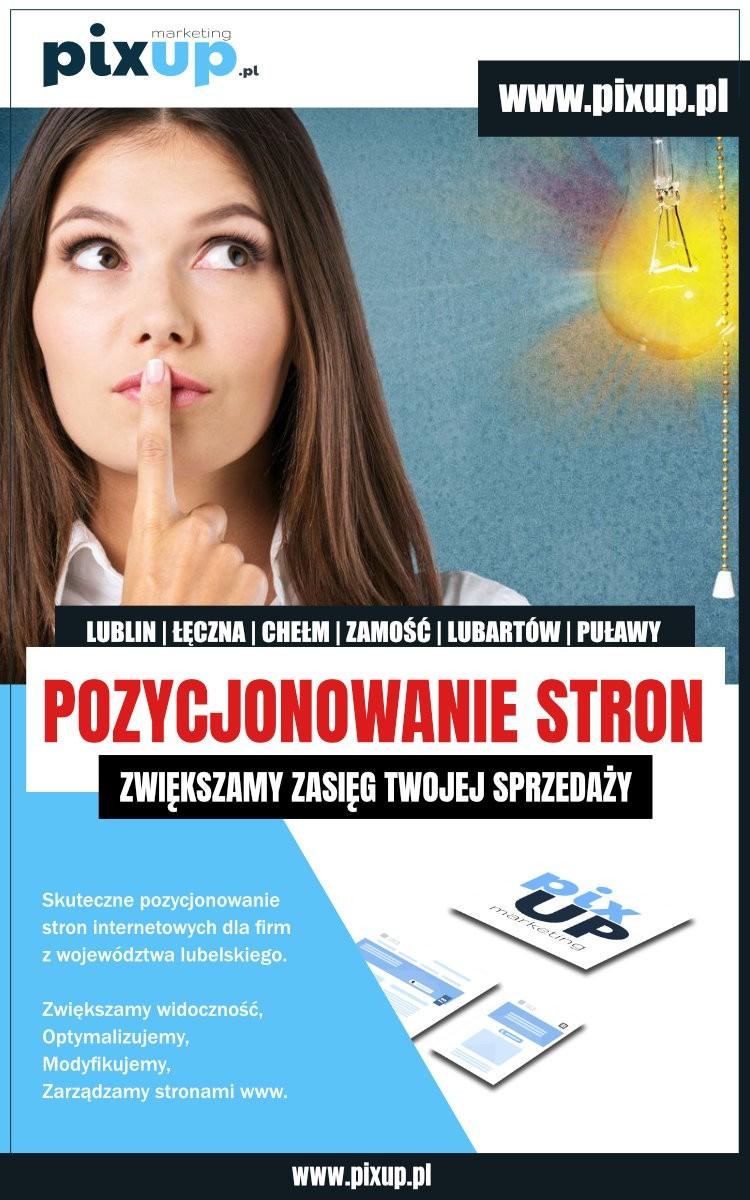 Pozycjonowanie Łęczna Lublin. Projektowanie stron internetowych